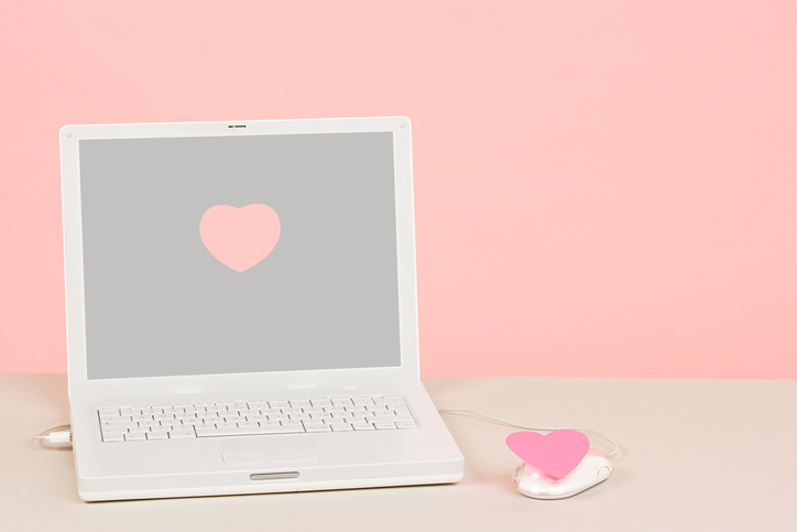 Valentines Day Laptop | Digital Marketing | Web Presence | Branding